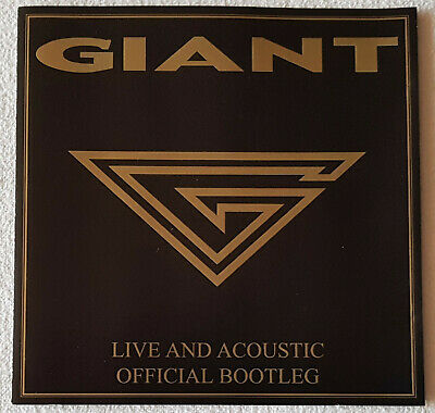 Giant – Live And Acoustic Official Bootleg - CD - 2003 - Frontiers Records
