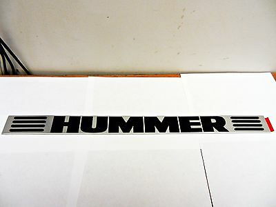 New GM Hummer Decal Name Plate 13971NAD