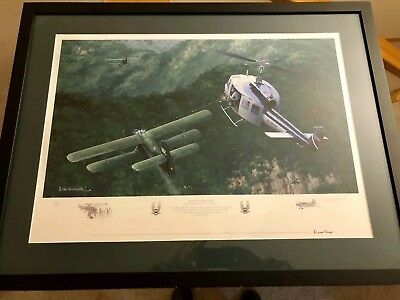 "Rare CIA Air America # 258/350 ""An Air Combat First"" Signed By Keith Woodcock"