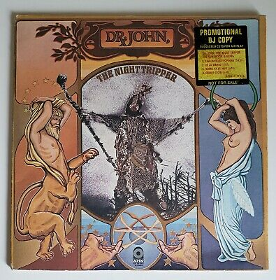 DR.JOHN,The Night Tripper The Sun Moon & Herbs 1971 US Atco LP Promo White Label