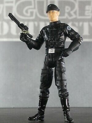 IMPERIAL OFFICER 2002  A New Hope Star Wars SAGA Series #55 Blonde Hair COMPLETE
