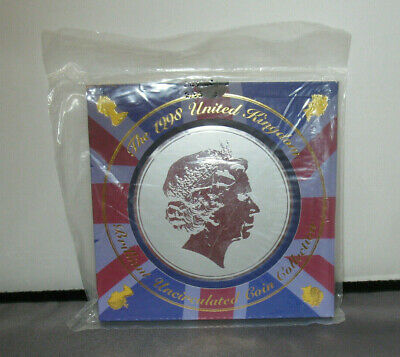 Coin Set 1998. Brilliant Uncirculated. Includes UNRELEASED £1 coin. Royal Mint.