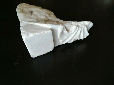 Nice Phrisus Frieze Corner Wall Fragment Roman Marble. Decorative. Museum