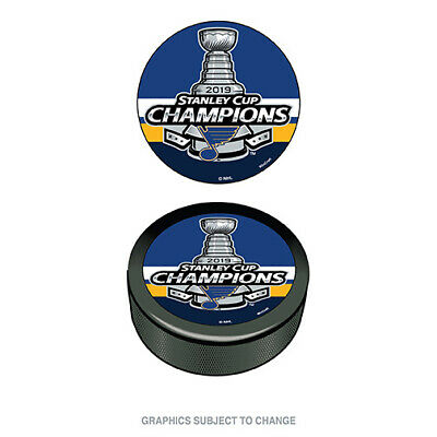 2019 Stanley Cup Champions Hockey Puck St. Louis Blues
