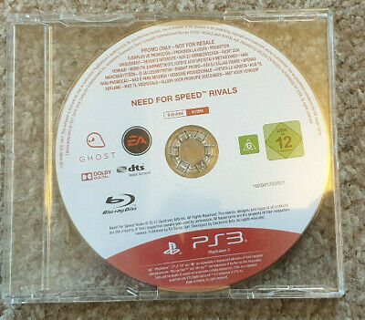 Sony Playstation 3 PS3 Game Need for Speed Rivals Promo Version