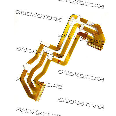 New LCD Flex Cable Cable Plano For Sony HDR-PJ390E Repair Parts Video Sala De
