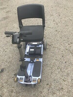 Luggie Mobility Scooter In Blue all Working Order But Needs New Battery