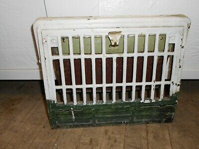 """Antique Heat Vent Cover Heating Grate  11""""X14.5"""""""