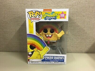 Funko POP! Animation: Spongebob Squarepants - Rainbow Spongebob Squarepants #558