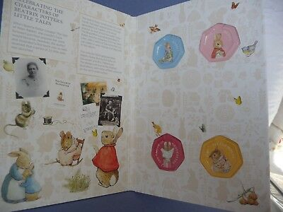 Beatrix Potter 2018 50p Coin Album Peter Rabbit and Friends - New and Unused.