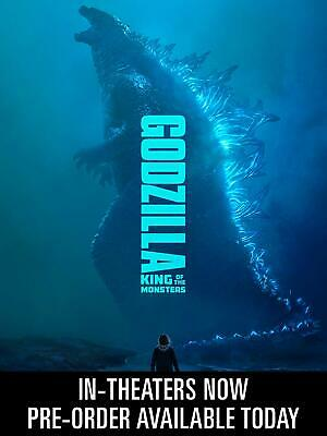 Godzilla King of the Monsters Blu-Ray + DVD + Digital Pre-order 2019