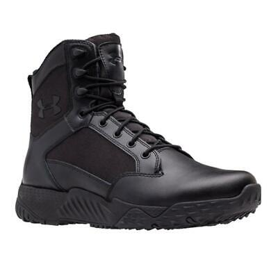 "Under Armour 1268951 Mens UA 8"" Stellar Tactical Boots, Black"