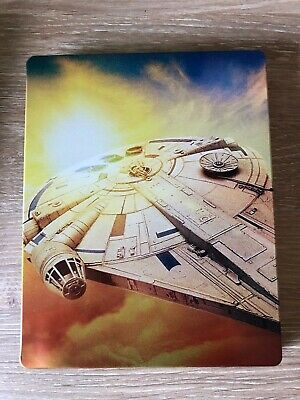 SOLO: A STAR WARS STORY STEELBOOK (4K+2D Blu Ray ) BEST BUY - NO DIGITAL
