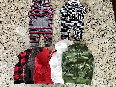 Lot Of Baby Boys Clothes Size 3 Months Miscellaneous
