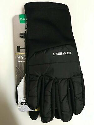 Head Men's Windproof Hybrid Gloves with Sensatec Ideal for Cold Weather Running