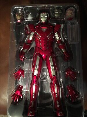Hot Toys 1//6 MMS213 IRON MAN 3 Silver Centurion Mark 33 CHEST ARMOR BD Damaged
