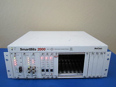 Netcom Systems SmartBits SMB-2000 w/ 3 ML-7710 Modules, 2 AT-9045 & 1 GX-1405B