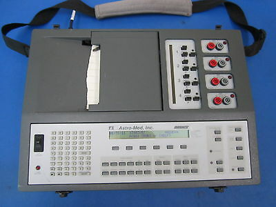 Astro-Med Dash IV 4 Channel Chart Recorder