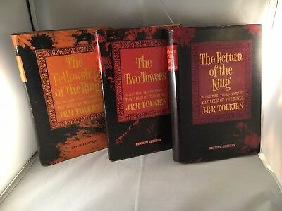 Rare Taiwan set The Lord Of The Rings Revised Edition, 3 Books, JRR Tolkien