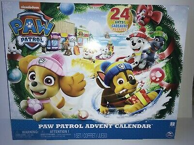 Paw Patrol Christmas Toy /& Stationery Treats Gift Advent Calendar