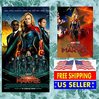 Captain Marvel Movie DVD 2019 BRAND NEW FAST FREE SHIPPING