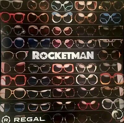"ROCKETMAN - 12""X12""  Original Promo Movie Poster MINT REGAL LE 2019 Elton John"