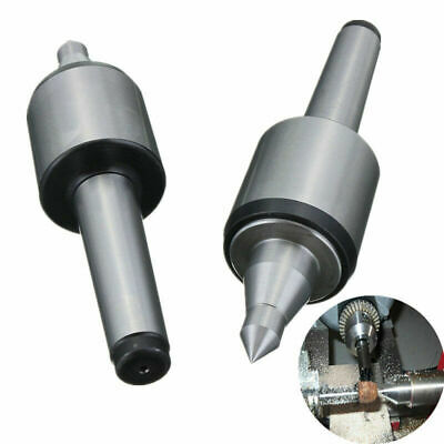 "1* 3MT CNC Long Spindle Lathe Live Center Morse Taper Tool 0.000197"" 60 Degree"