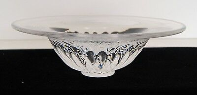 """KOSTA BODA 77709 Signed Crystal Candy / Nut Bowl 2 1/2"""" Tall & 8"""" Wide NO BOX"""