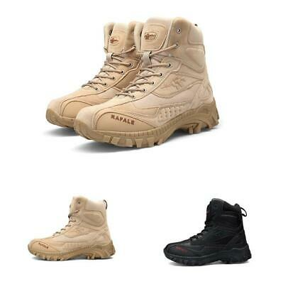 05dfe228411 ARMY MEN'S TACTICAL Boots Comfort Desert Leather Combat Military ...