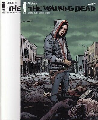 THE WALKING DEAD #192 Image Comics BLANK VARIANT COVER + 1ST PRINTING! Kirkman