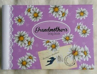 Brand New Grandmother's Brag Book Baby Keepsake