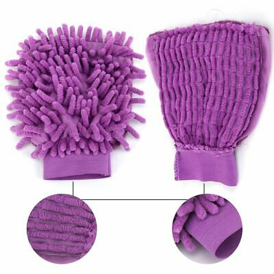 Car Kitchen Household Home Washing Cleaning Towel Duster Glove Cloth Garden usa
