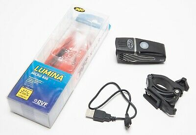 NiteRider Lumina Micro 850 Lumens LED Waterproof Bike Bicycle Front Head Light