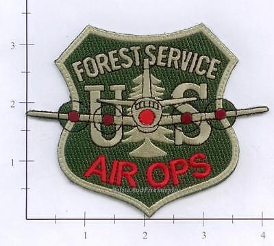 United States - US Forest Service Air Ops Forest Fire Patch