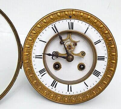 A French Striking Movement With Brocott Escapement