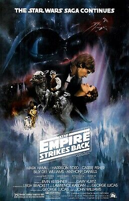 Star Wars Episode V: The Empire Strikes Back Movie Poster - 11x17 13x19 - USA