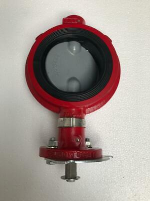 "Fmc Technologies Weco 4"" - 175 Butterfly Valve -Free Shipping-"
