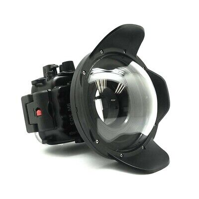 Seafrogs 40m/130ft Underwater Camera Housing Case for Canon EOS M6 18-55mm