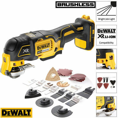 Dewalt DCS355N 18v Brushless Oscillating Multi-tool With 34pcs Accessories Set