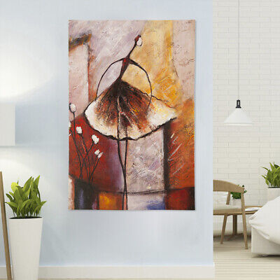 Modern Art Oil Painting Hand Painted On Canvas Wall Home Decor Framed Dancer