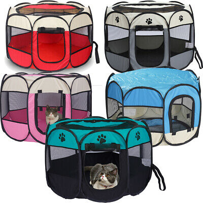Pet Dog Cat Puppy Portable Travel Carry Tote Cage Bag Crate Kennel Foldable Tool