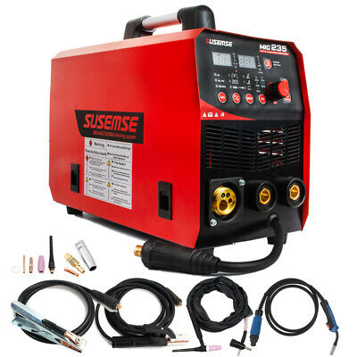 200Amp Inverter MIG TIG ARC Welder Gas/Gasless 220V MIG Welding Machine 2T/4T
