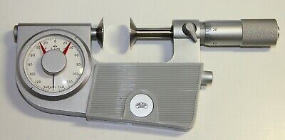 SUHL DDR Dial Indicating Disk  Micrometer 20-45 mm, 0.01mm