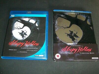 Bluray STEELBOOK SLEEPY HOLLOW ZAVVI V.O Sold Out! RARE + Ed.simple av VF
