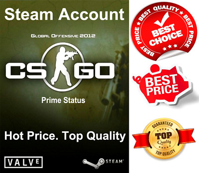 Counter Strike Global Offensive (CS GO) Prime Status: excellent quality