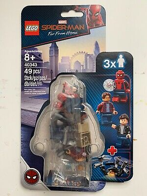 Exclusive - LEGO Marvel - 40343 Spider-Man Far From Home Minifigure Pack - BNIB