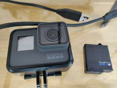 GoPro 6 Hero Black 4K Action Camera - Unboxed, Mint, Missing Tray