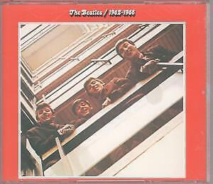 BEATLES 1962-1966 DOUBLE CD Netherlands Apple 1993 26 Track 2 Disc Set In Thick