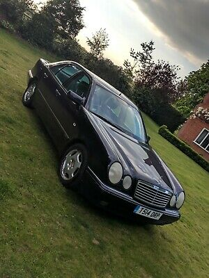 Mercedes E Class E240 Avantgarde Auto 80k miles no advisories on MOT