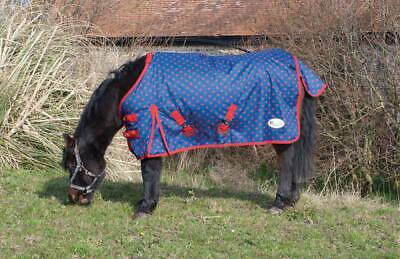 Rhinegold Torrent Dottie Lightweight Turnout Rug Sizes  3'6 - 4'3  Pony Or Foal,